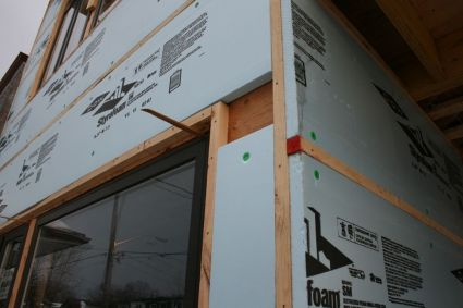 Rigid Insulation Exterior Walls Figure 7 3 Concrete Block Construction A Party Wall With An