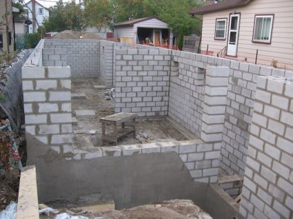 Pensive thoughts for Block wall foundation